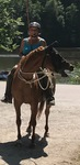 Horsemanship-Training während dem Ausritt